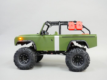 rc truck with fuel tanks