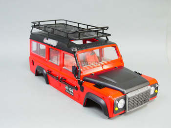 RC Defender 110 Metal Roof Rack