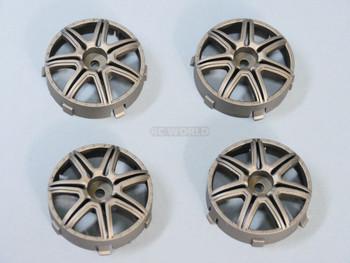 Tetsujin MARGUERITE RC Car Wheels Bronze Adjustable Offset 3-6-9mm
