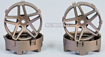 Tetsujin RC Car Wheels Disc Adjustable Offset 3/6/9mm -Southern Cross Bronze -4 pcs