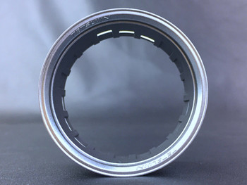Tetsujin RC Car Wheels LIPS  Adjustable Offset  - Matte SILVER Lip- (4 pcs ) TT-7536