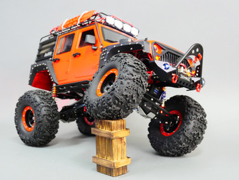 Custom Built 1/10 RC JEEP WRANGLER RUBICON 2-Speed Rock Crawler 8.4V *RTR*