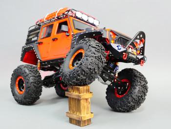 Custom Built 1/10 RC JEEP WRANGLER RUBICON 2-Speed Rock Crawler 8.4V *RTR*