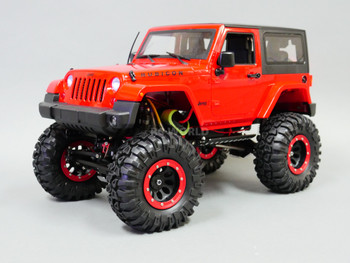 Rc Jeep 2 Door W/ SWB Metal Chassis