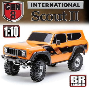 Redcat Gen8 International Scout II 1/10 4WD Rock Crawler RTR Orange