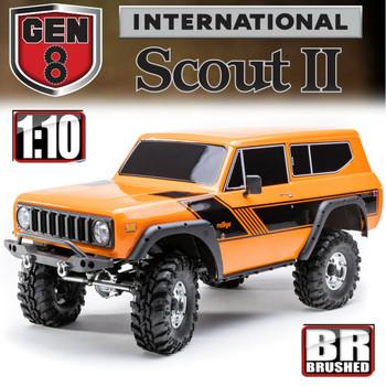 Redcat Gen8 International Scout II 1/10 4WD Rock Crawler RTR Orange