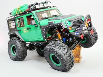 Custom 1/10 RC Jeep Wrangler Rubicon Crawler