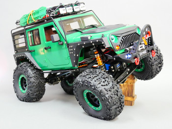 Custom 1/10 RC Jeep Wrangler Rubicon Crawler