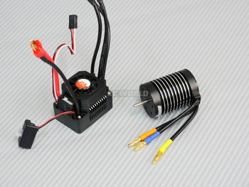 RC Brushless 540 Motor + Waterproof ESC 60A Racing Combo