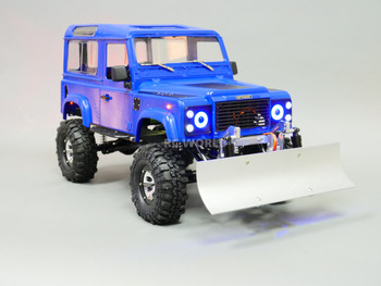 Custom RC Land Rover Defender 90 Snow Plow