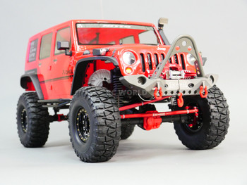 Axial Scx-10-2 Metal Knuckles + Steering Links Set