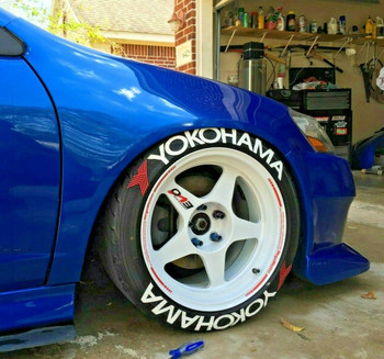 1/10 Scale Tire Decal Yokohama Wheel