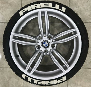 1/10 Scale Tire Decal Pirelli Wheel