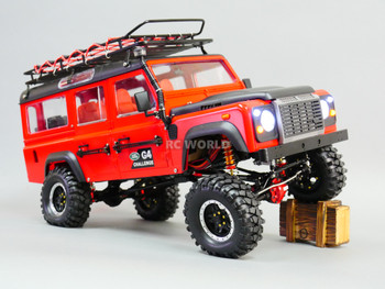 RC 1/10 Land Rover DEFENDER 110 G4 Challenge 4X4 Truck 8.4V w/ Engine Sounds