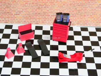 RC 1/10 scale garage accessories
