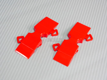 Rc Track Parts STRAIGHT SHORT Red Tetsujin Kerbs