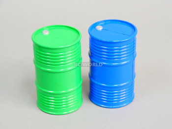 1/10 Plastic Drum Container Blue
