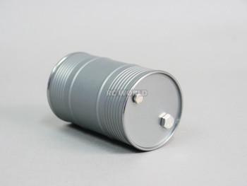 RC 1/10 Metal Drum Container Liquid Storage Gun Metal