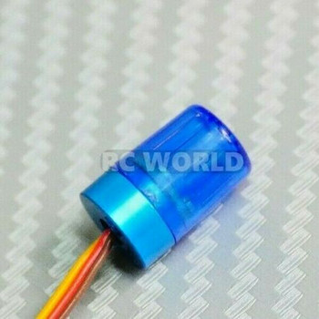 1/10 Police EMS LIGHTS LED Top Beacon Flashing - Small BLUE