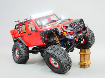 Custom Built 1/10 RC JEEP WRANGLER RUBICON