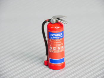 1/10 Scale FIRE EXTINGUISHER Powder W/ Holder + Hardware