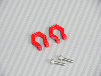 1/10 Scale Metal Shackles Red