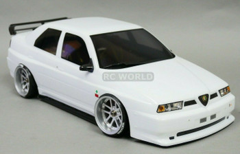 1/10 ALFA ROMEO 155 GTA Body Shell 190mm WHITE *FINISHED*