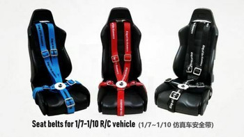 1/10 rc racing seat belts