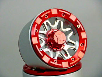 1/10 Truck Wheels 2.2 Beadlock 8 Star