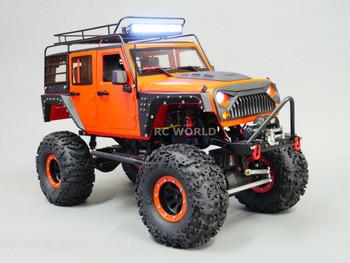 Rc Custom Jeep W/ Warn Winch