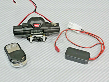 1/10 warn dual motor winch with wireless controller