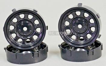 1/10 Tetsujin SUNFLOWER  WHITE Adjustable Offset 3-6-9mm -4 RIMS