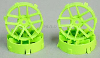 1/10 Tetsujin JASMINE GREEN Adjustable Offset 3-6-9mm -4 RIMS