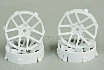 1/10 Tetsujin JASMINE WHITE Adjustable Offset 3-6-9mm -4 RIMS
