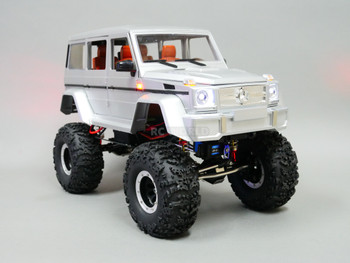 Custom Built 1/10 RC Mercedes Benz G500 Wagon 2-SPEED Rock Crawler 8.4V *RTR*