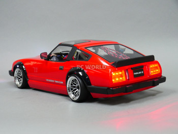 Custom RC 1/10 Drift NISSAN 280Z Wide Body AWD DRIFT RTR W/ LED