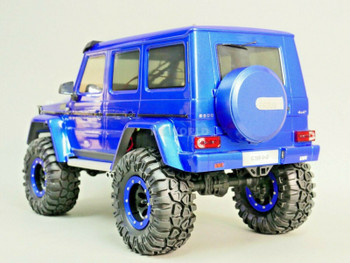 Traxxas Mercedes G500 REAR SPARE TIRE Cover -unpainted-