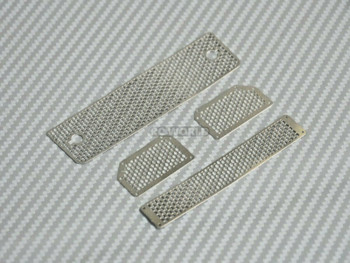 Traxxas Mercedes G500 Front METAL GRILL Parts (4 pcs)