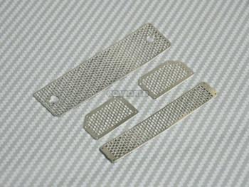 Traxxas Mercedes G500 Front METAL GRILL Parts (4 pcs)