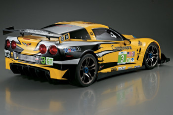 1/7 Traxxas XO-1 RC BODY Shell CHEVY CORVETTE Racing