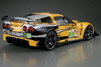 1/7 Traxxas XO-1 RC BODY Shell CHEVY CORVETTE Racing