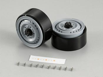 "1/10 Scale Truck Rims 1.68"" Aluminum For LC70 (2PCS) #48695"