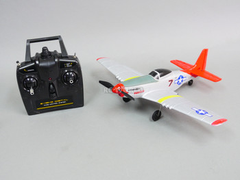 rc micro P-51 Mustang