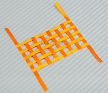 1/10 RC Scale Window Net Mesh Large Orange