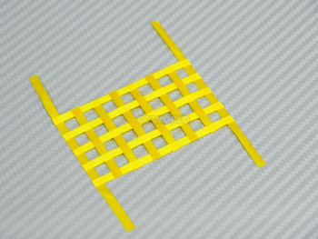 1/10 RC Scale Window Net Mesh Large Yellow