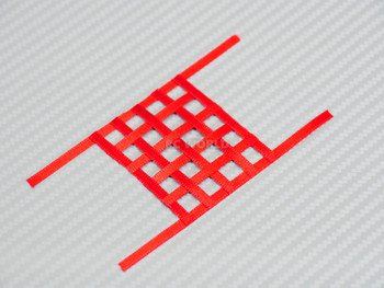 1/10 RC Scale Window Net Mesh Small Red