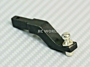 RC 1/10 Scale Metal TOW HITCH Ball MOUNT Heavy Duty Black