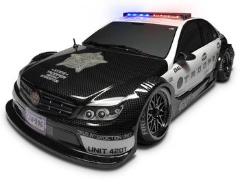 Rc 1/10 Police Lights Light BAr