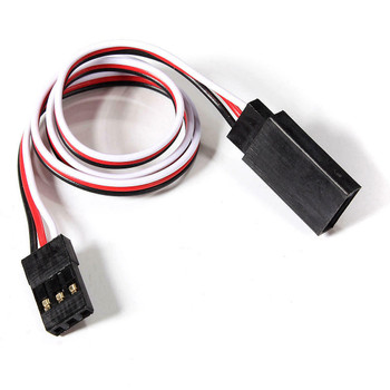 "1/10 RC SERVO Extension Wire 12"" Futaba Connector (2pcs)"