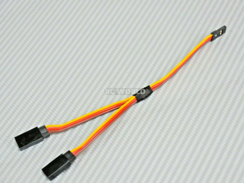 1/10 RC SERVO Y Harness Servo Splitter Futaba Plugs